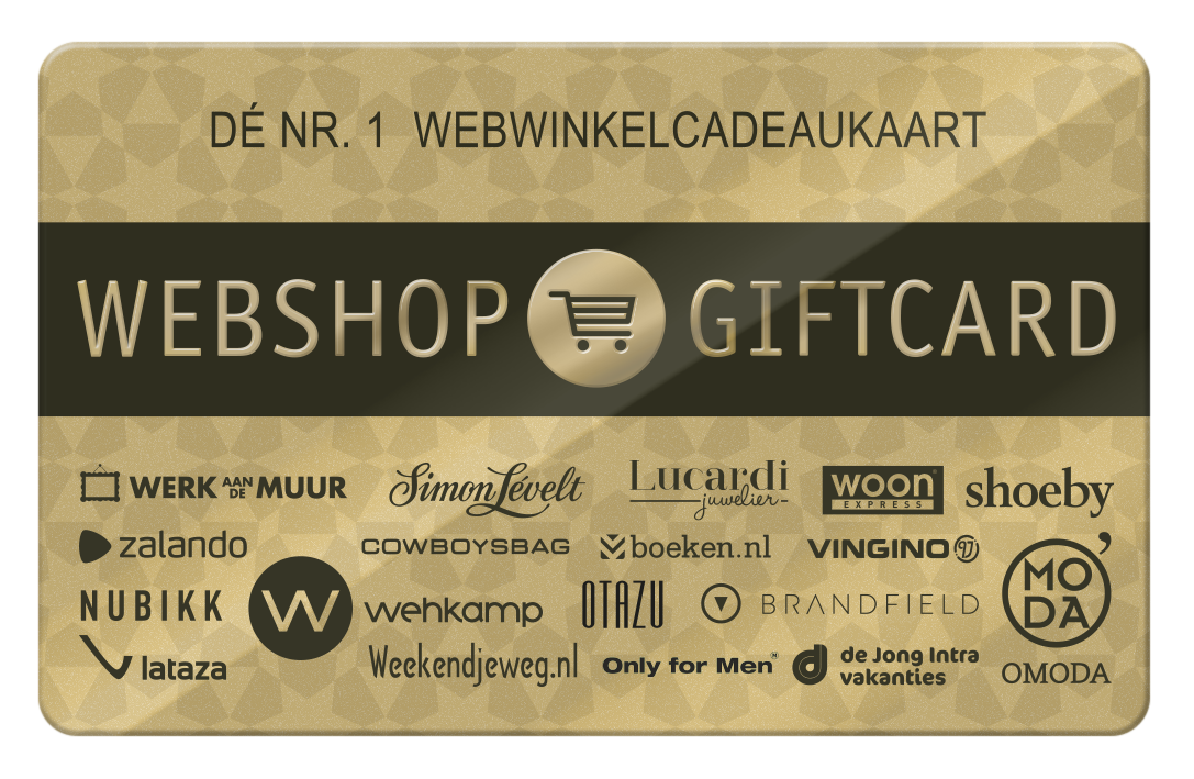 Webshop Giftcard e-card