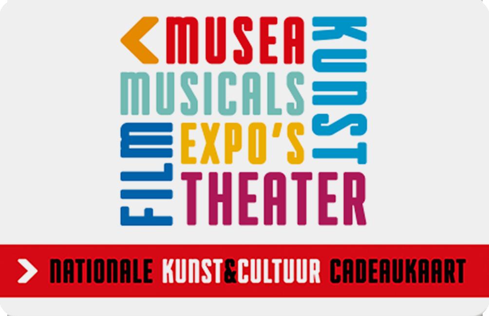 Kunst & Cultuur Cadeaukaart e-card