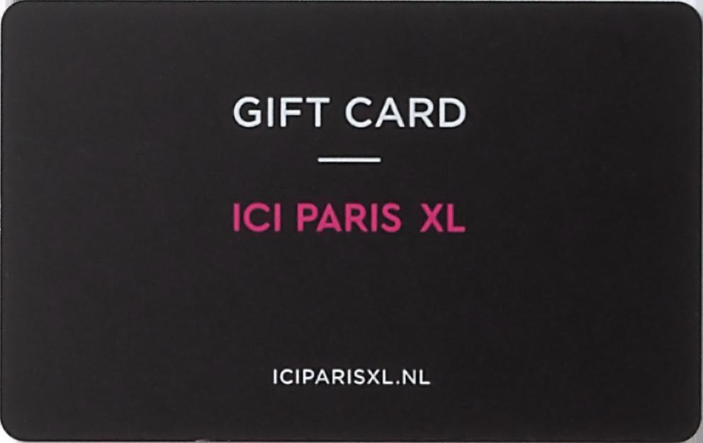 ICI Paris XL Cadeaukaart e-card